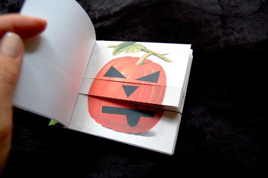 Pumpkin Carving Flip Book