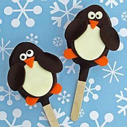 Chocolate Penguin Pops