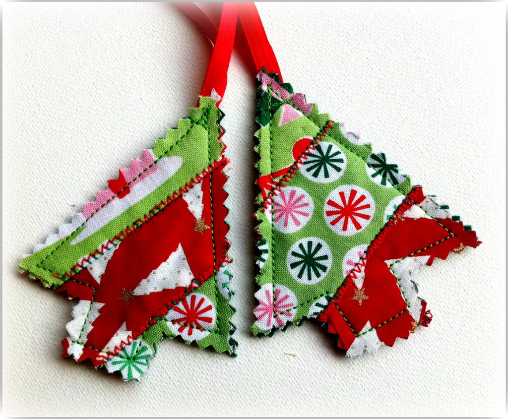 Quilted Mini Trees