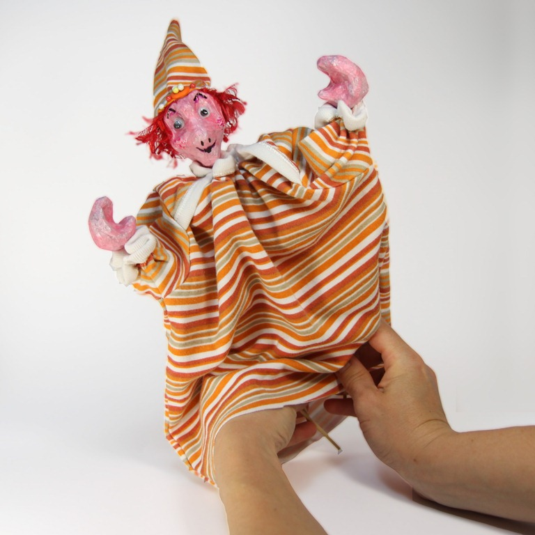 Hand Puppet Marionette