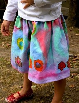 Painted Skirts