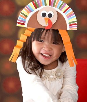 Paper Plate Turkey Hat