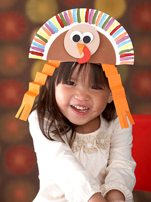 Paper Craft Ideas on This Super Cute Hat Is Made From A Paper Plate  The Adorable Turkey