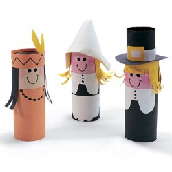 Paper Tube Pilgrims