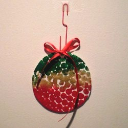 Bubble Wrap Ornament