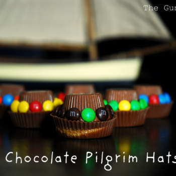 Chocolate Pilgrim Hats