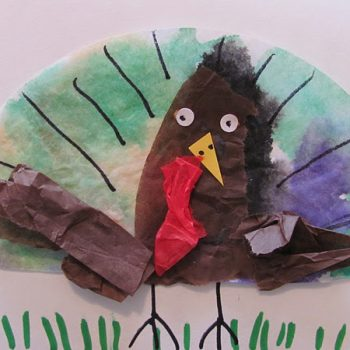 Coffee Filter Turkey Cards