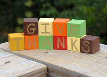 Give Thanks Blocks