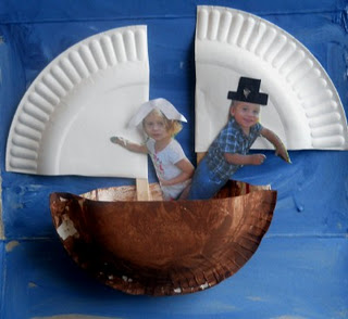 Paper Plate Mayflower
