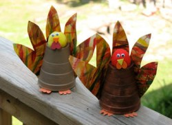 Paper Cup Turkeys