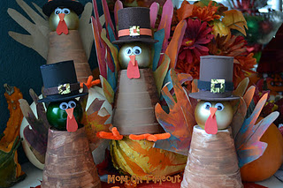 Thanksgiving Pilgrim Turkeys