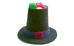 Pilgrim Hat Thanksgiving Cups