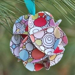 Geo Christmas Ornament