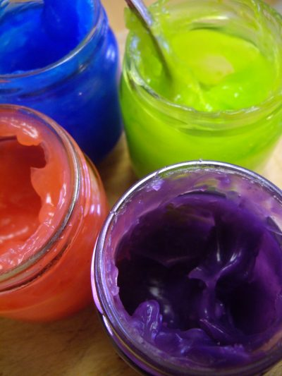 Scented Gel Paints
