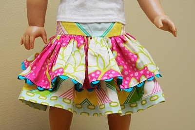 Twirly Doll Skirts