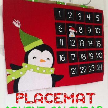 Placemat Advent Calendar