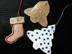 Bread Dough Clay Ornaments