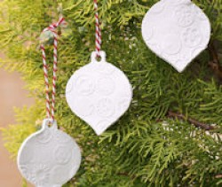 Clay Ornaments