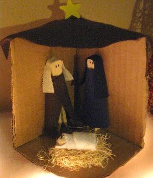Clothespin Nativity