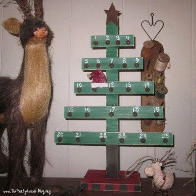 Countdown to Christmas Tree Craft
