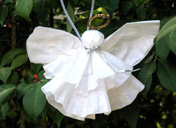 Easy Coffee Filter Angel Fun Family Crafts