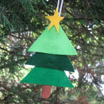 Easy Layered Christmas Tree