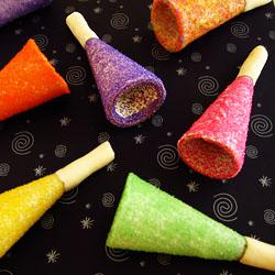 Edible Party Horns