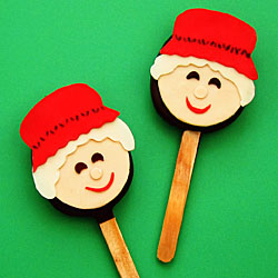 Mrs. Claus Chocolate Truffle Pops
