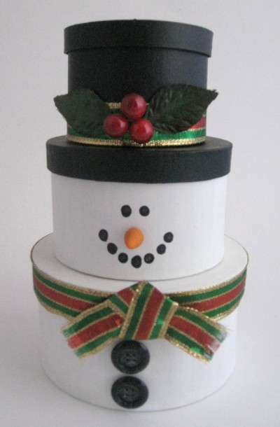 Stackable Snowman
