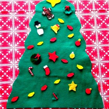 Felt Preschool Christmas Tree