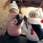 Mitten Snow People