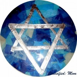 Mosaic Star of David