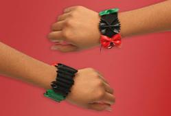 Pasta-Kwanzaa-Bracelets