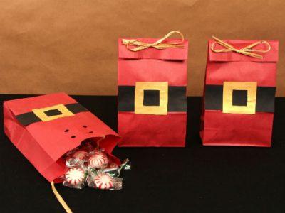 Santa treat bag