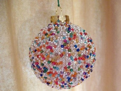 ornament all beads takes make own ornaments bead your and