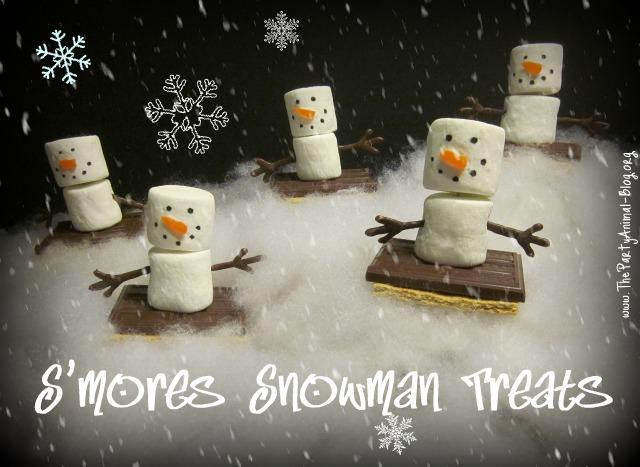 S'mores Snowman Treats