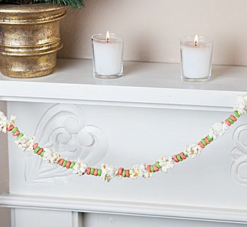 Cereal Christmas Garland
