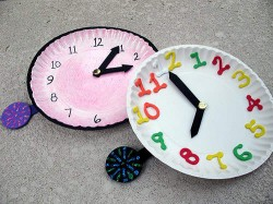 New Year's Craft Countdown Clock for Kids
