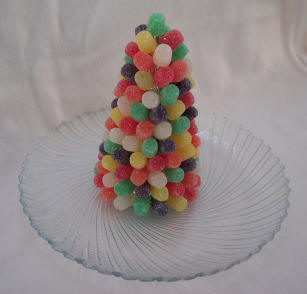 Gumdrop Christmas Tree Decoration