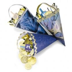 Hanukkah Paper Cones