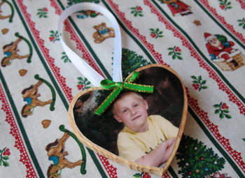 Heart Photo Ornament