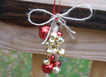 Jute & Jingle Bell Decoration