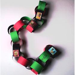 Kwanzaa Paper Chain