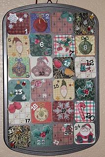 Muffin Tin Advent Calendar