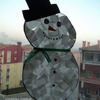 Napkin Snowmen