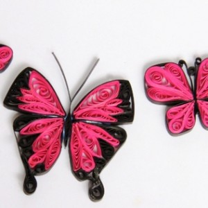 Paper Quilled Butterflies