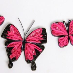 Paper Quilled Butterflies