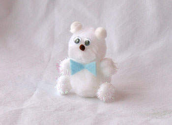 Pom Pom Polar Bear