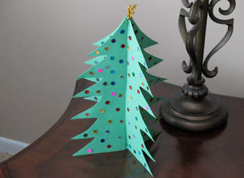 Pop Out Christmas Tree
