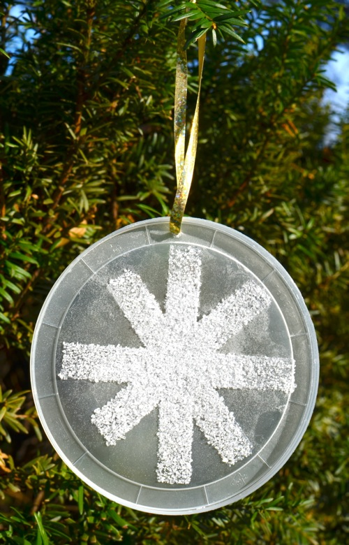 Salty Snowflake Ornaments